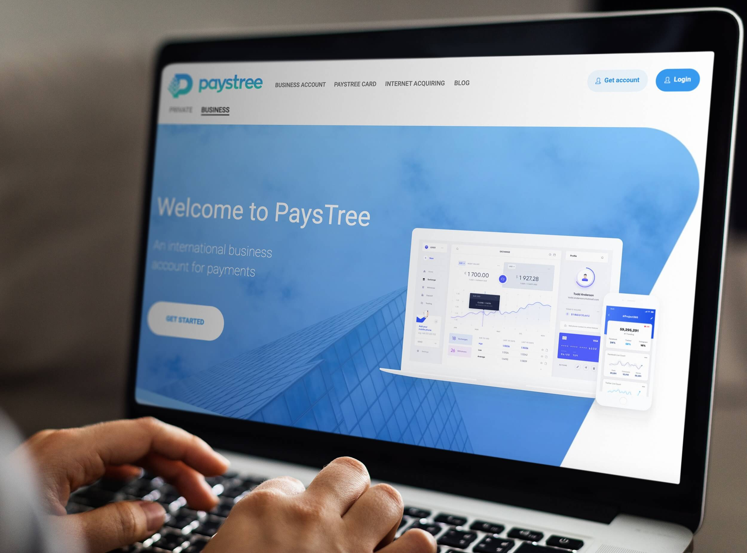 How to open an account with PaysTree?